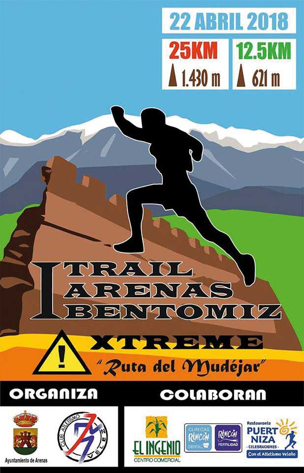 De trail en Arenas