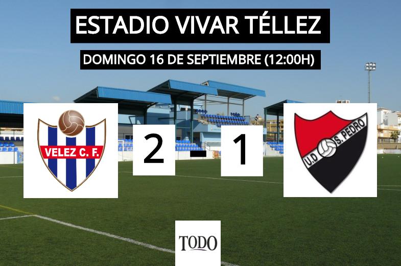 CRÓNICA | El Vélez CF consigue su primera victoria en casa