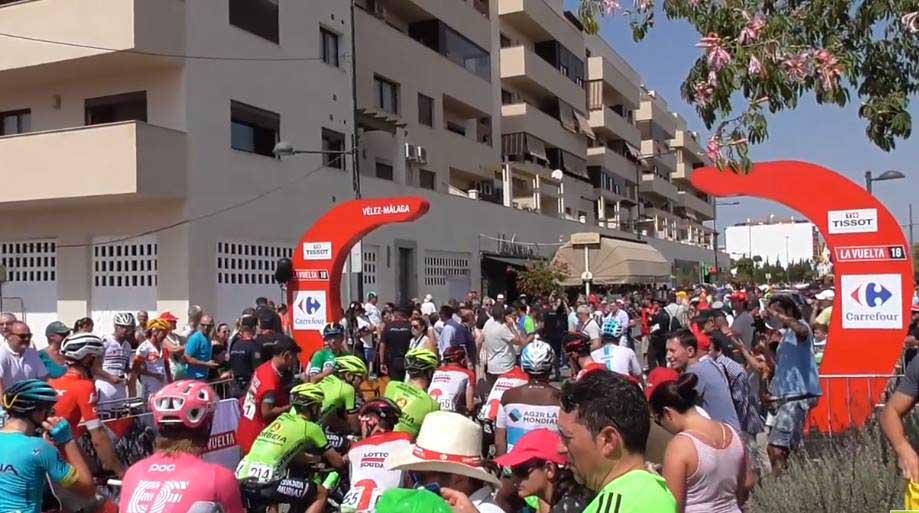 Vélez-Málaga, capital del ciclismo por un día