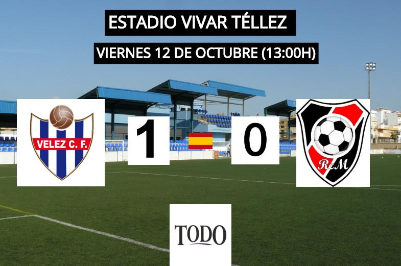 CRÓNICA | El Vélez CF gana por la mínima al colista