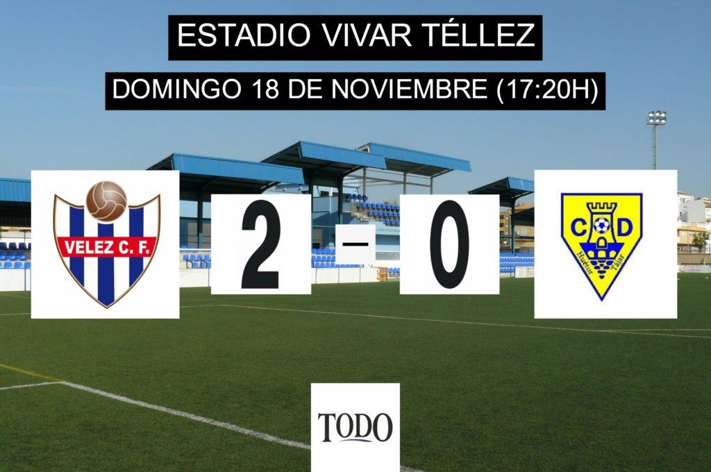 CRÓNICA | El Vélez CF logra su cuarto triunfo consecutivo
