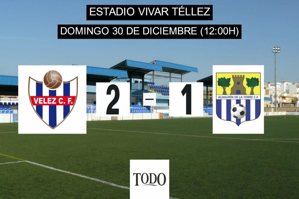 CRÓNICA | El Vélez CF cierra el año con una victoria