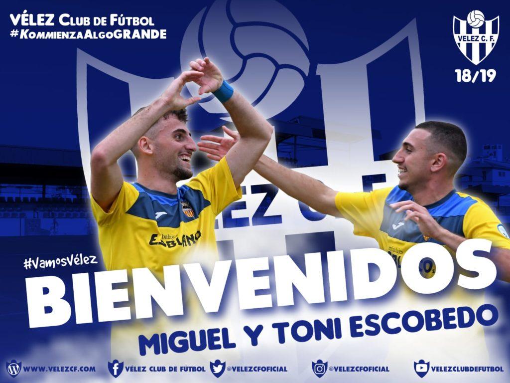 El Vélez CF oficializa una salida y dos incorporaciones