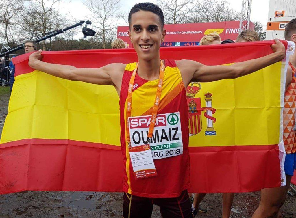 Ouassim Oumaiz, subcampeón de Europa de cross